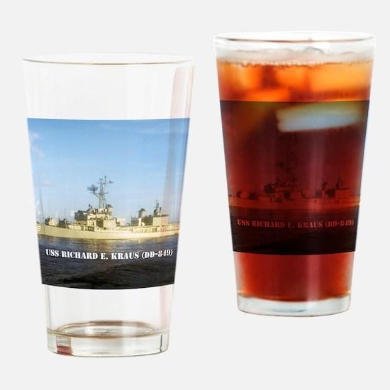 rekraus note card Drinking Glass