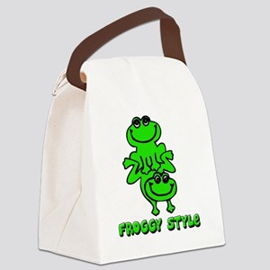 froggy_style Canvas Lunch Bag