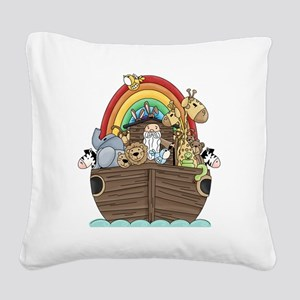 ark_2 Square Canvas Pillow