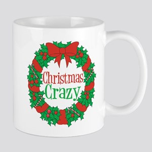 Christmas Crazy Wreath Mug