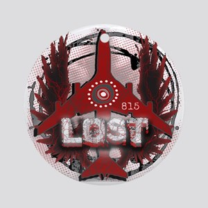 Lost TV Wings and Plane Round Ornament