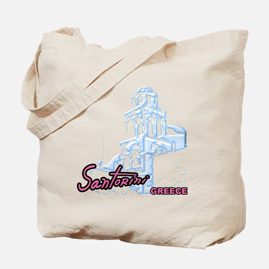 5-santorini_t_shirt Tote Bag