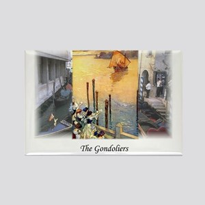 gondoliers2 Rectangle Magnet
