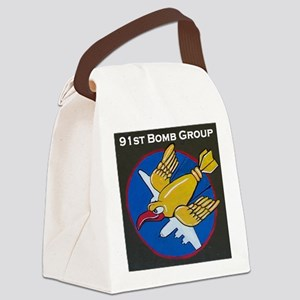 91st Bomb Group Canvas Lunch Bag