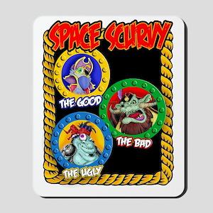 Space Scurvy Tshirt2 Mousepad
