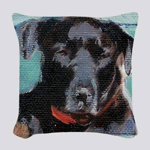 jazzysquare Woven Throw Pillow