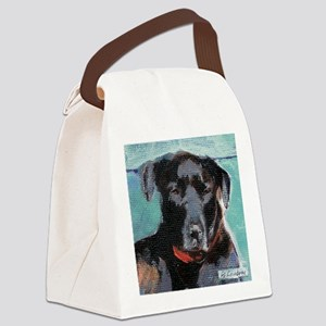 jazzysquare Canvas Lunch Bag