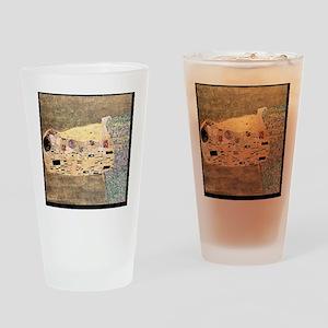 The_Kiss_Gustav_Klimt_2000pix_sig Drinking Glass