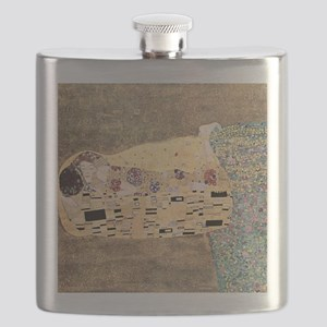 The_Kiss_Gustav_Klimt_2000sq_rot Flask