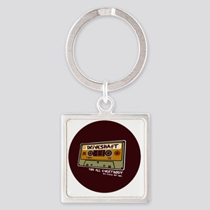 DriveshaftButton06 Square Keychain