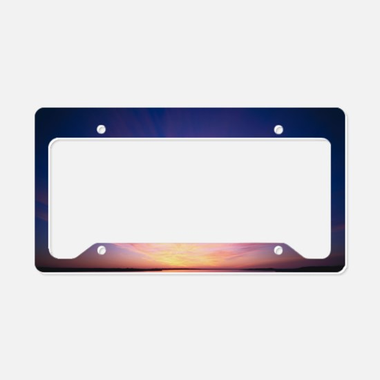 GreatPondSunrise License Plate Holder