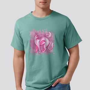 Pink Cat Mood T-Shirt