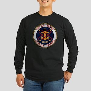 rekraus patch Long Sleeve Dark T-Shirt