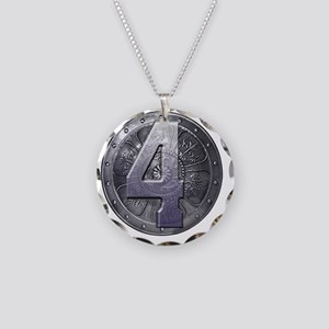 Shield 2  Necklace Circle Charm