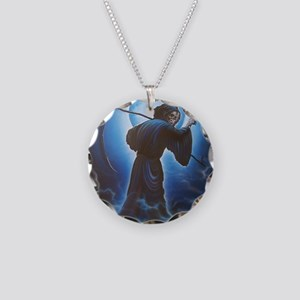 This Way Please by Ivan Necklace Circle Charm