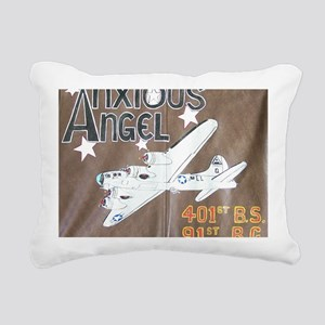 Anxious Angel Rectangular Canvas Pillow