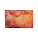 Inner Flow IV Abstract Orange 3'x5' Area Rug