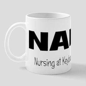 NAK nursing at Keyboard! Mug