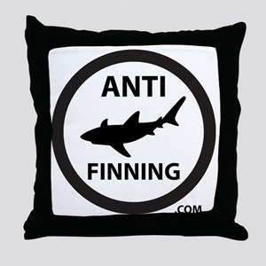 Bull Shark (Tighter) - Anti-Shark Fin Throw Pillow
