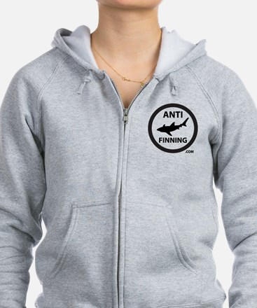 Bull Shark (Tighter) - Anti-Sha Zip Hoodie