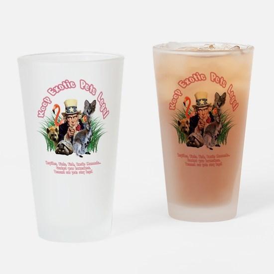 KensExotics Tshirt - Transparent Ba Drinking Glass