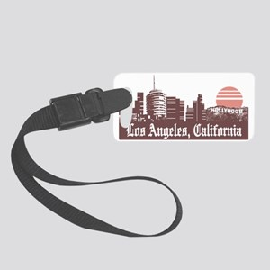 Los Angeles Linesky Small Luggage Tag