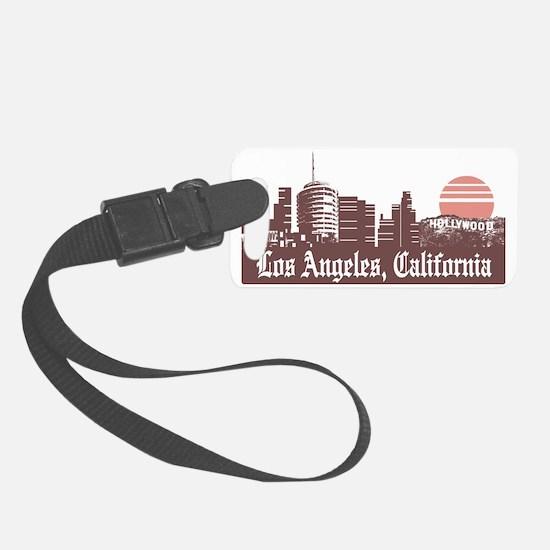 Los Angeles Linesky Luggage Tag