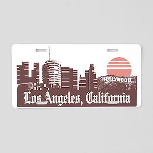 Los Angeles Linesky Aluminum License Plate