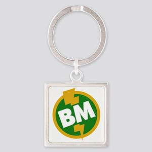 Best Man - BM Dupree Square Keychain