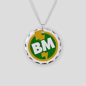 Best Man - BM Dupree Necklace Circle Charm