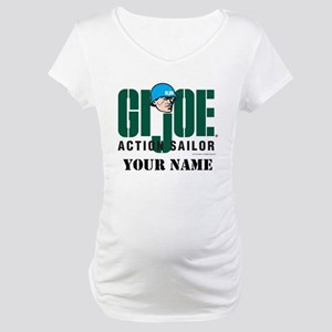 GI Joe Action Sailor Maternity T-Shirt
