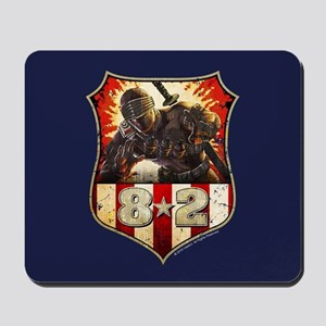 Snake Eye Badge Mousepad