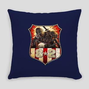 Snake Eye Badge Everyday Pillow
