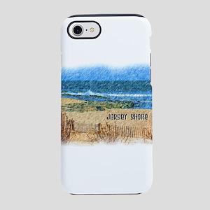Jersey Shore NJ Beach iPhone 7 Tough Case