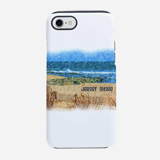 Jersey Shore NJ Beach iPhone 7 Tough Case