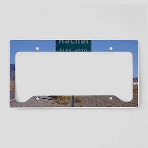 Rachel Sign License Plate Holder
