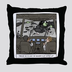 Witchshield Washer Fluid Final Throw Pillow