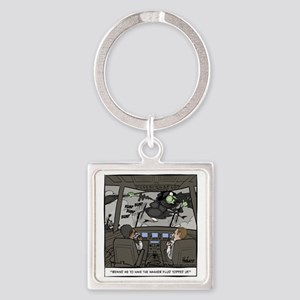 Witchshield Washer Fluid Final Square Keychain
