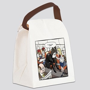Sleepy Horseman Final Canvas Lunch Bag