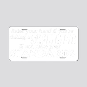 dating standards Aluminum License Plate