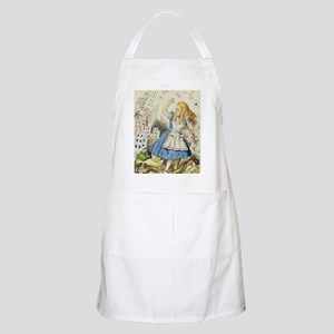 ALICE The Shower of Cards  Illustration fro Apron