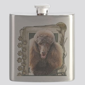 Stone_Paws_Poodle_Chocolate Flask