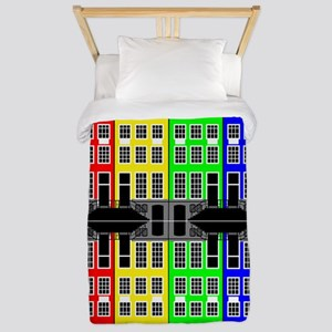Amsterdam Architecture - Merchants hous Twin Duvet