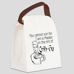 Crib Fu Canvas Lunch Bag