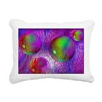 Inner Flow I Abstract Rectangular Canvas Pillow