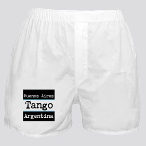 Tango Buenos Aires Argentina Boxer Shorts