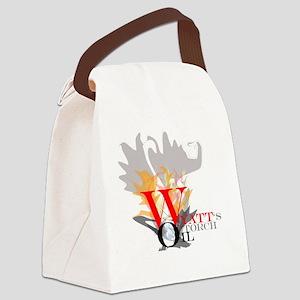 WyattsTorch Canvas Lunch Bag