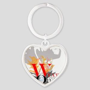 WyattsTorch Heart Keychain