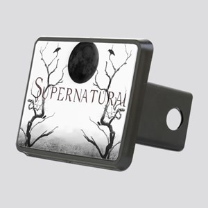 Supernatural creepy light Rectangular Hitch Cover