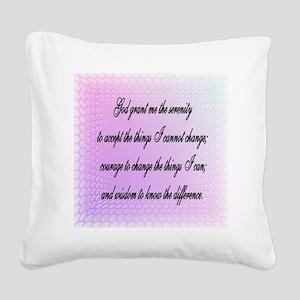 rewr Square Canvas Pillow
